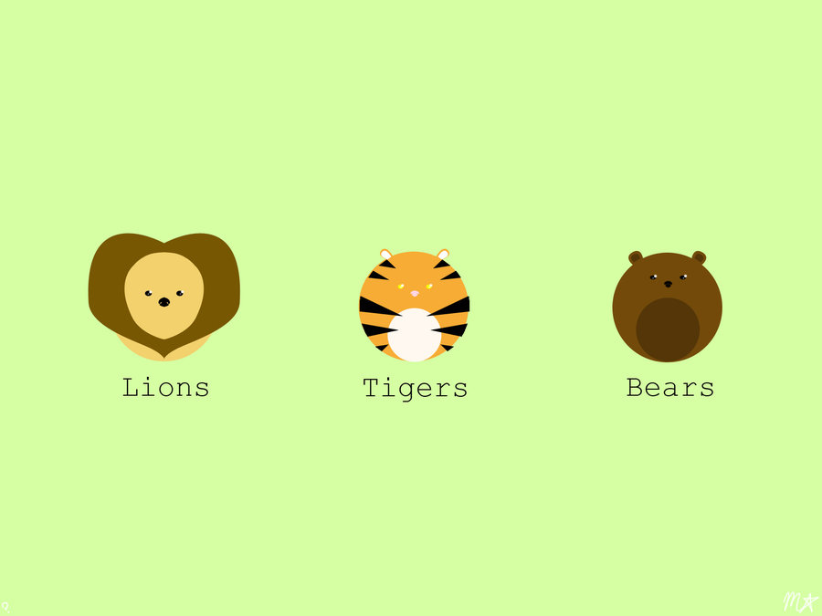Lions__Tigers__Bears__Oh_My_by_Mo_Pii